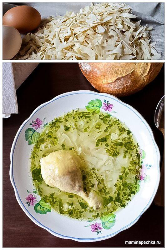 Домашняя лапша рецепт