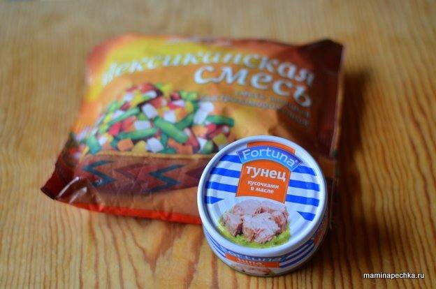 Тунец консервированный рецепты приготовления с фото