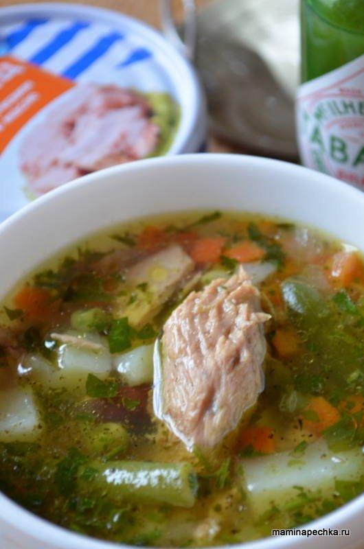 рыбный суп из кижуча рецепт с фото
