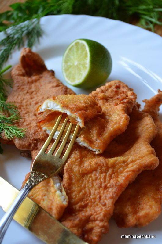 кляр для рыбы с молоком рецепт с фото