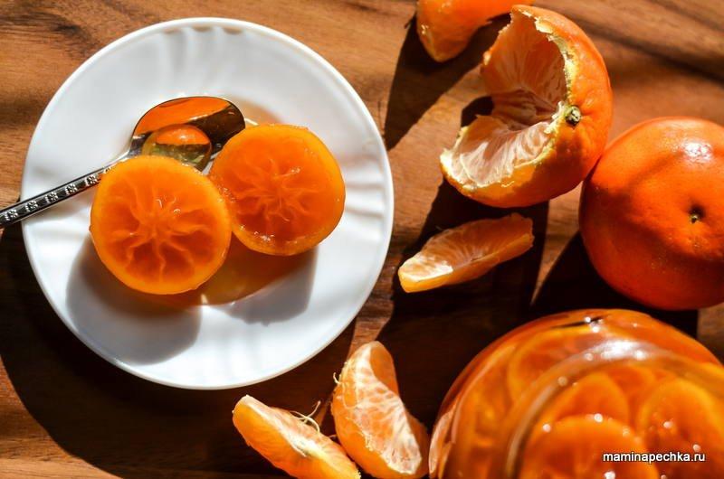Как сделать варенье из мандаринов