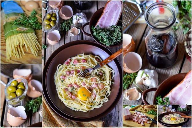 Карбонара – классический рецепт пасты и 5 вариантов картинки