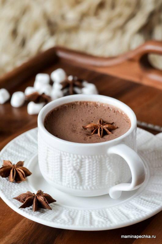 Горячий шоколад с желтком