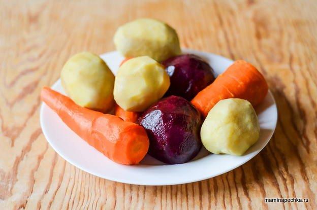 Овощи для для винегрета