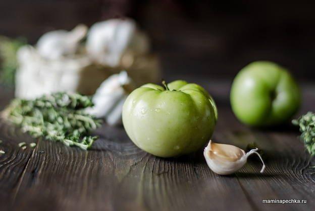 зелёные помидоры
