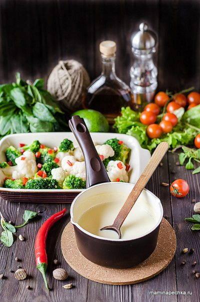 Сырный соус для запекания