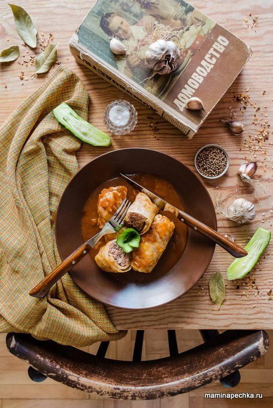 Голубцы в томатном соусе - домашний рецепт