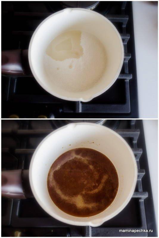 Медовый кекс с имбирём и лимоном