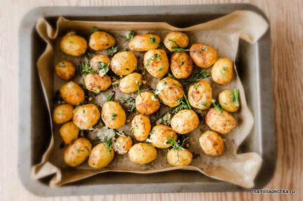 Хрустящий картофель в духовке