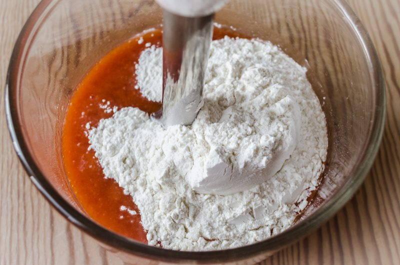 Маффины на томатном соке