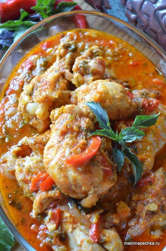 рецепт приготовления чахохбили из курицы с фото
