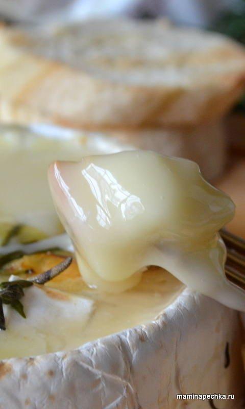 фондю из сыра Камамбер