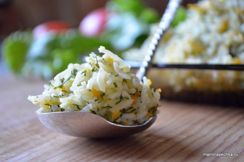 рис в мультиварке рецепт с луком и морковью и