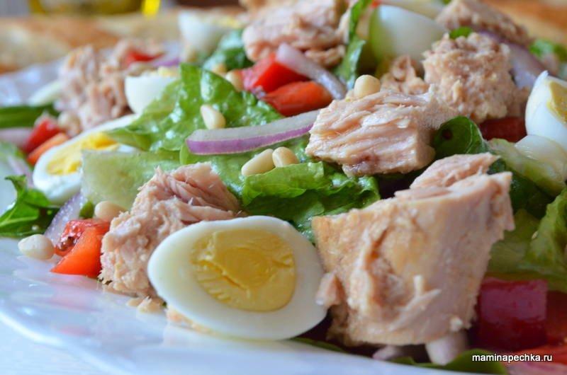 Тунец рецепты фото салаты