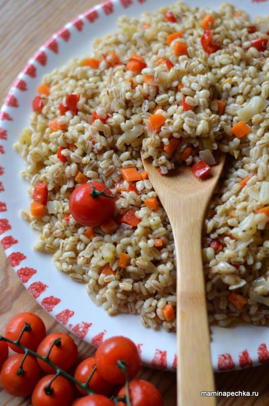 Пшеница с овощами