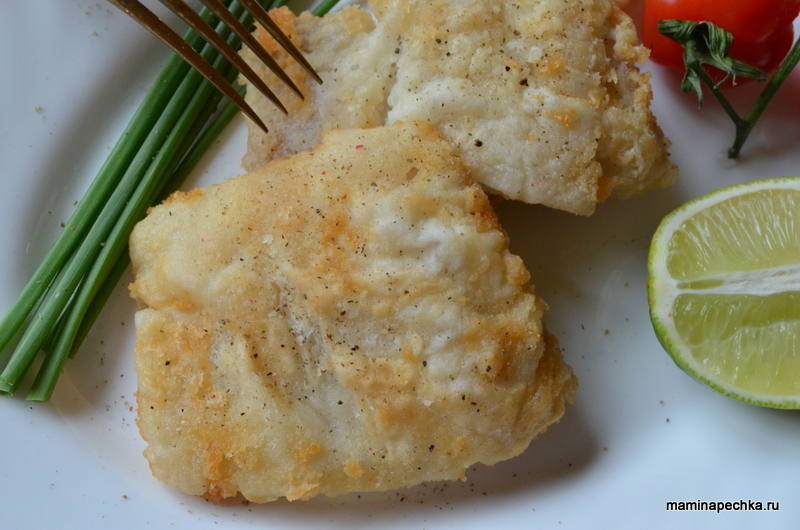 Рецепт рыбных котлет с печеньем