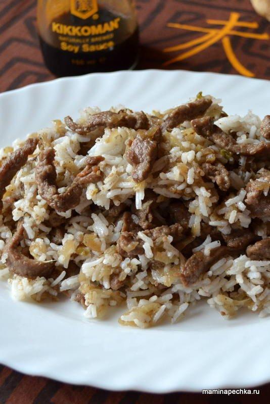 Рецепт приготовления мяса по китайски