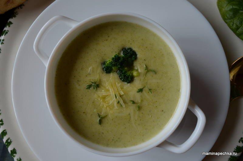 рецепт приготовления супа пюре из брокколи