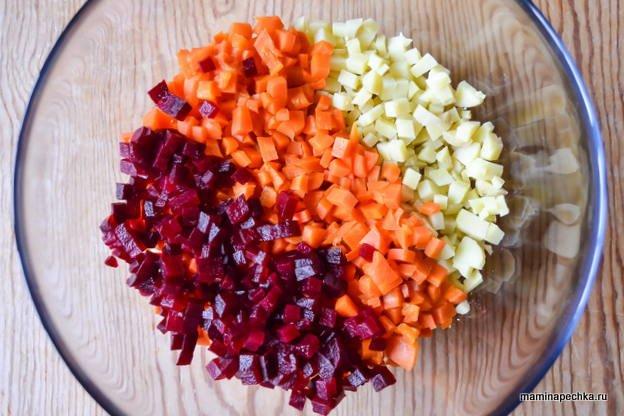 овощи для винегрета