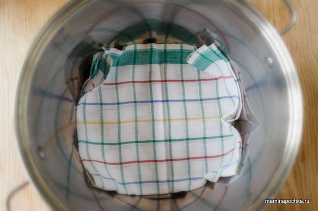стерилизация банок