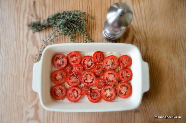 Гювеч из красных помидоров