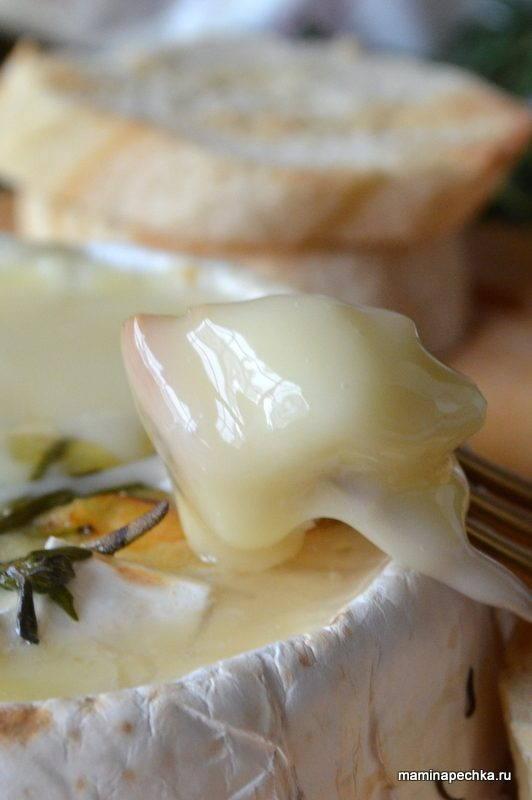 Фондю с сыром Камамбер