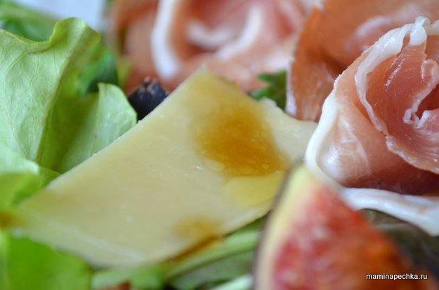 хамон салат сыр